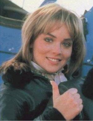 Quem lembrava de Sharon Stone em