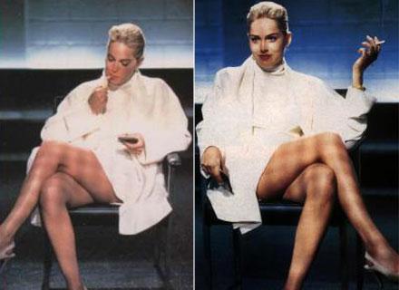 A cruzada de pernas que consagrou Sharon Stone em