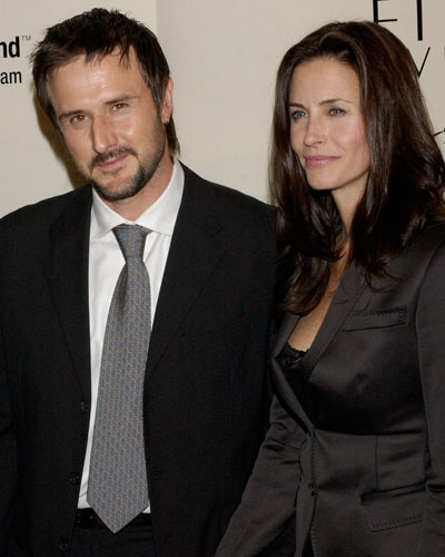 Courtney Cox e David Arquette
