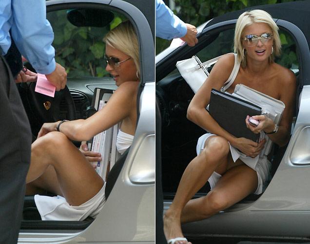 Paris Hilton No Underwear
