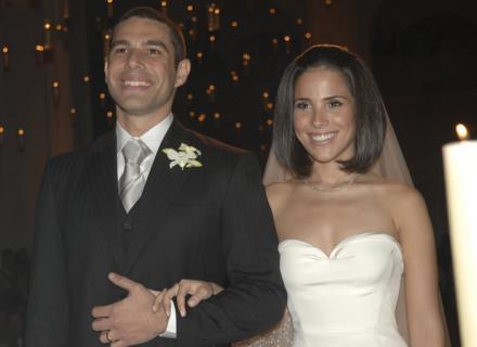 Wanessa e o empresário Marcos Buaiz se casam em São Paulo, após dois anos de namoro. A cerimônia foi na Sala São Paulo, no centro da cidade (26/5/2007)