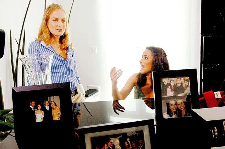Wanessa abre as portas de sua casa para Angélica gravar o programa