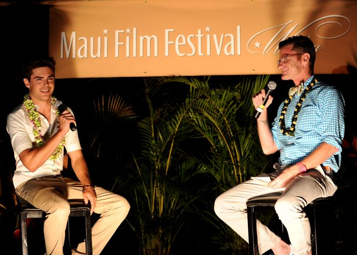 Zac Efron participa do Maui Film Festival, no Havaí (16/06/2010)