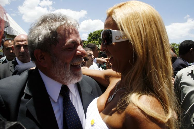 Lula e as popozudas
