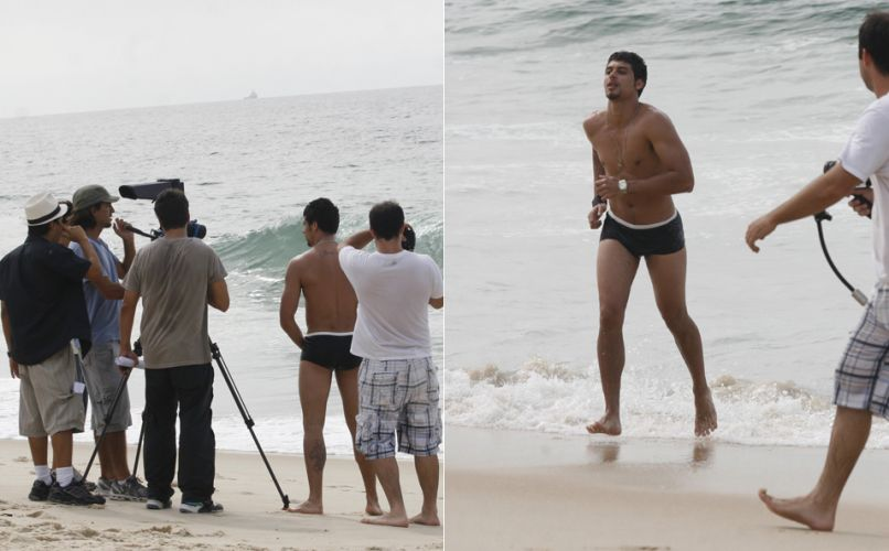 Jesus Luz grava cenas do videoclip da música
