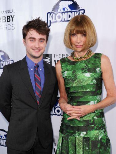 O ator Daniel Radcliffe, astro da série