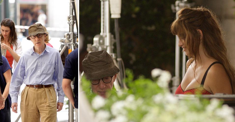Woody Allen começa em Roma as filmagens de