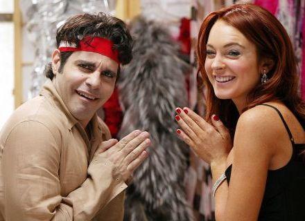 Mario Cantone e Lindsay