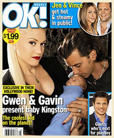 Gwen Stefani e Kingston