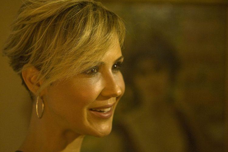 A atriz Guilhermina Guinle prestigia o prêmio