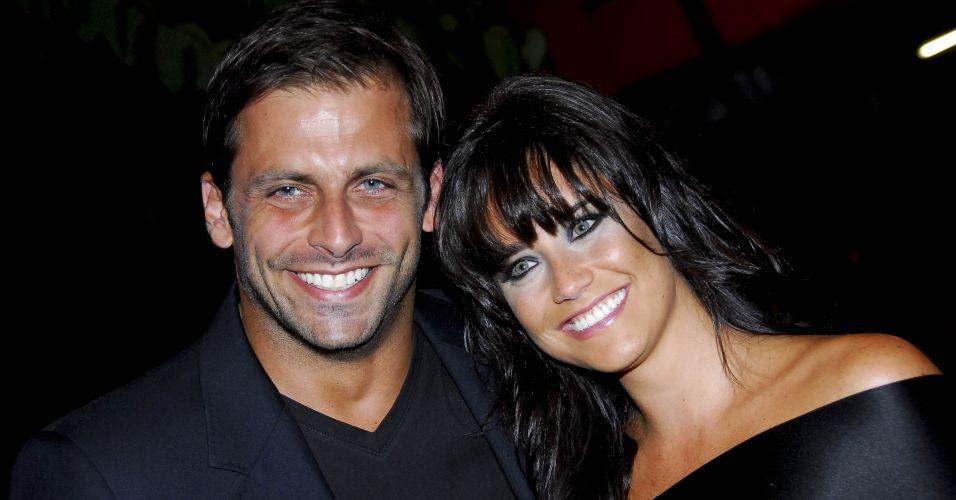 Henri Castelli e Fernanda Vasconcellos
