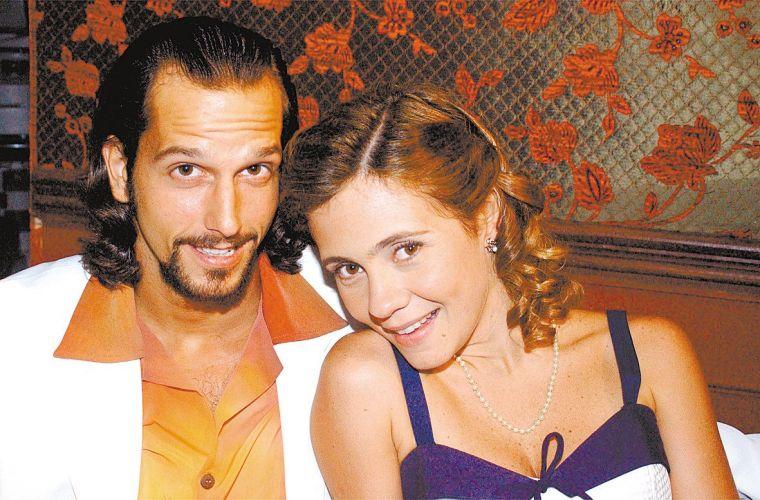 Vladimir Brichta e Adriana Esteves