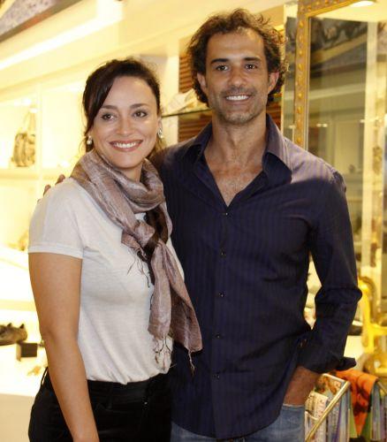 Suzana Pires e Marcos Pasquim