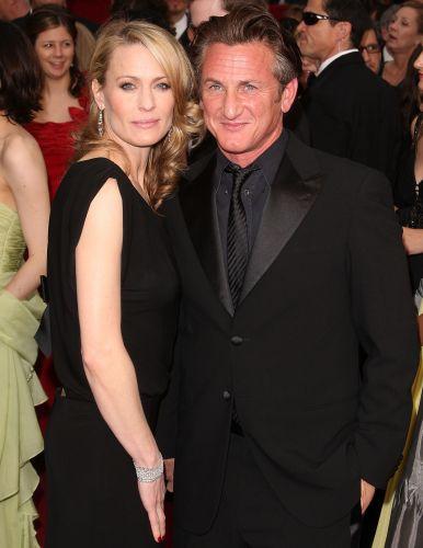 Robin Wright e Sean Penn