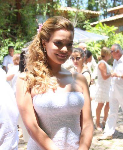 Geisy Arruda é uma das convidadas da festa dada por Adriane Galisteu e Alexandre Iódice na manhã de sábado (27), em um spa do interior de São Paulo (27/11/2010)