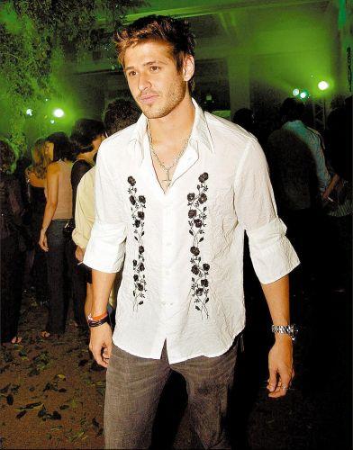 Dado Dolabella durante festa da Diesel no Hotel Glória, no Rio de Janeiro (25/09/2004)