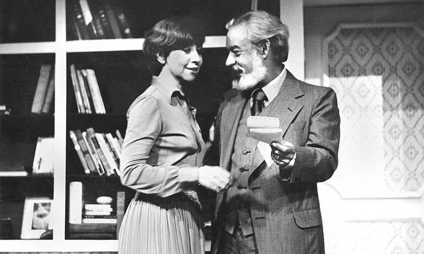 Casados há 23 anos, Fernanda Montenegro e Fernando Torres (1927-2008) atuam juntos na peça