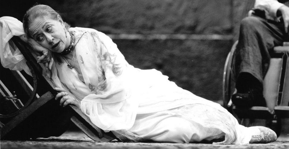 Fotografia da atriz Fernanda Montenegro, que faz parte da exposição Fernanda EnCena: Retrospectiva 50 Anos
