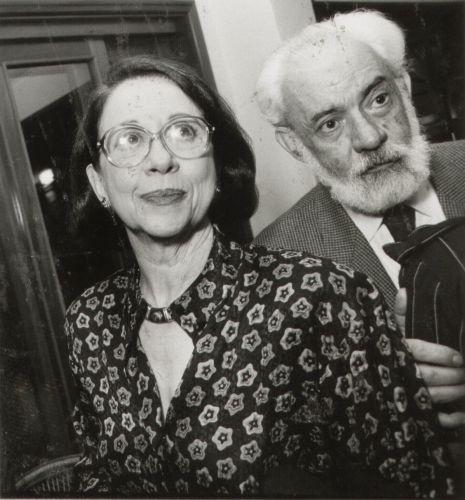 O casal Fernanda Montenegro e Fernando Torres em foto de 1991