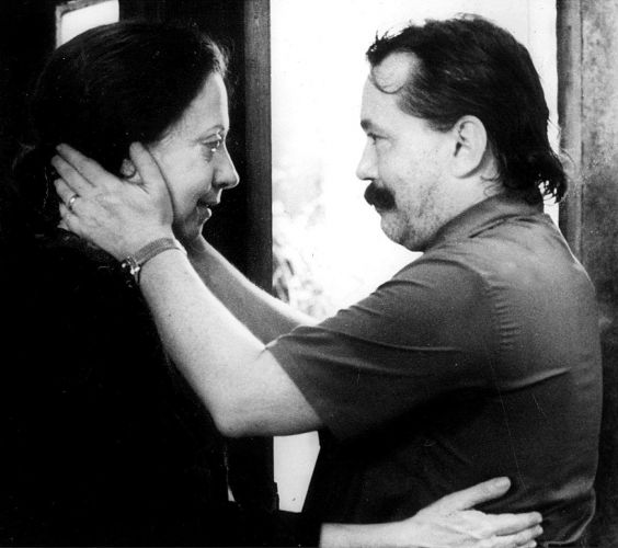 Fernanda Montenegro e Gianfrancesco Guarnieri no filme