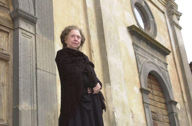 Fernanda Montenegro interpreta a italiana Luiza, avó da protagonista Maria (Priscila Fantin), na primeira fase da novela