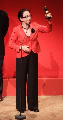 Fernanda Montenegro recebe homenagem no 4º Prêmio Contigo! de Cinema Nacional (28/9/2009)