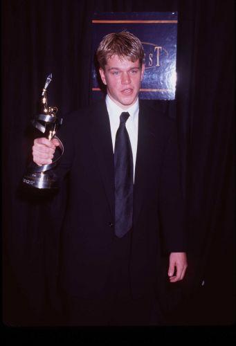 Matt Damon recebe prêmio de ator revelação no Showest em Las Vegas pela atuação em