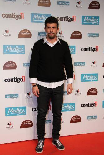 O ator Millhem Cortaz vai ao Prêmio Contigo de Cinema Nacional, no Teatro Tom Jobim, no Rio (12/9/11)