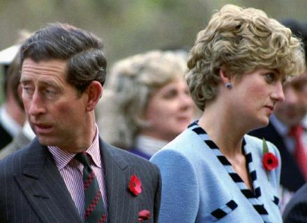 Charles e Diana mostram que estavam em crise durante viagem à Coréia do Sul (nov.92)