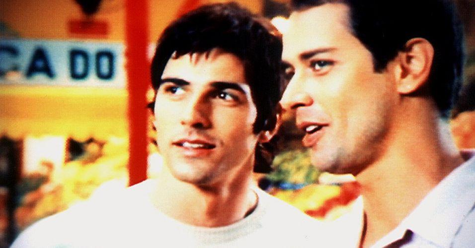 Reynaldo Gianecchini e Marcelo Antony em comercial das lojas Renner