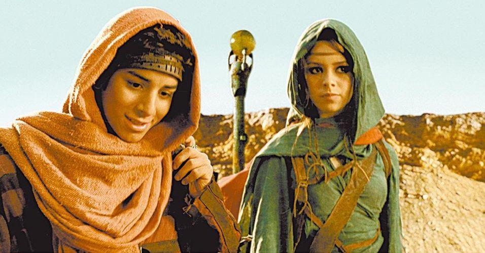 Sandy e Junior em cena do filme
