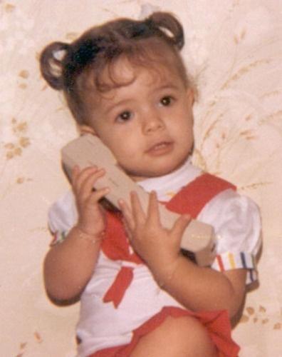 Sandy mudou a foto de seu avatar no Twitter para o Dia da Criança (outubro/2010)