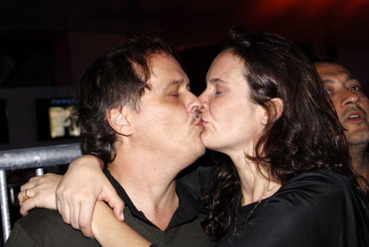 Guilherme Fontes e a mulher Patricia