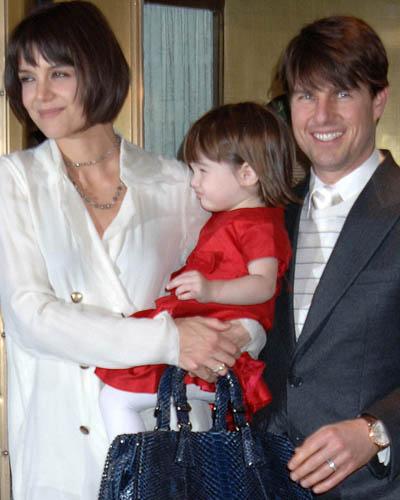 Tom Cruise e Katie Holmes