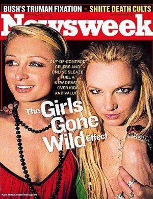 Paris Hilton e Britney Spears, que viveram juntas uma amizade cheia de baladas e escândalos, foram capa da revista