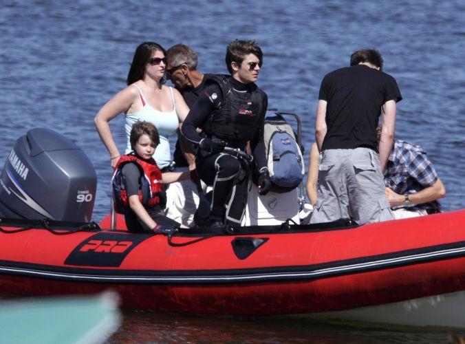 Zac Efron pega aulas de mergulho para gravação de um filme em Vancouver, no Canadá (17/07/2009)